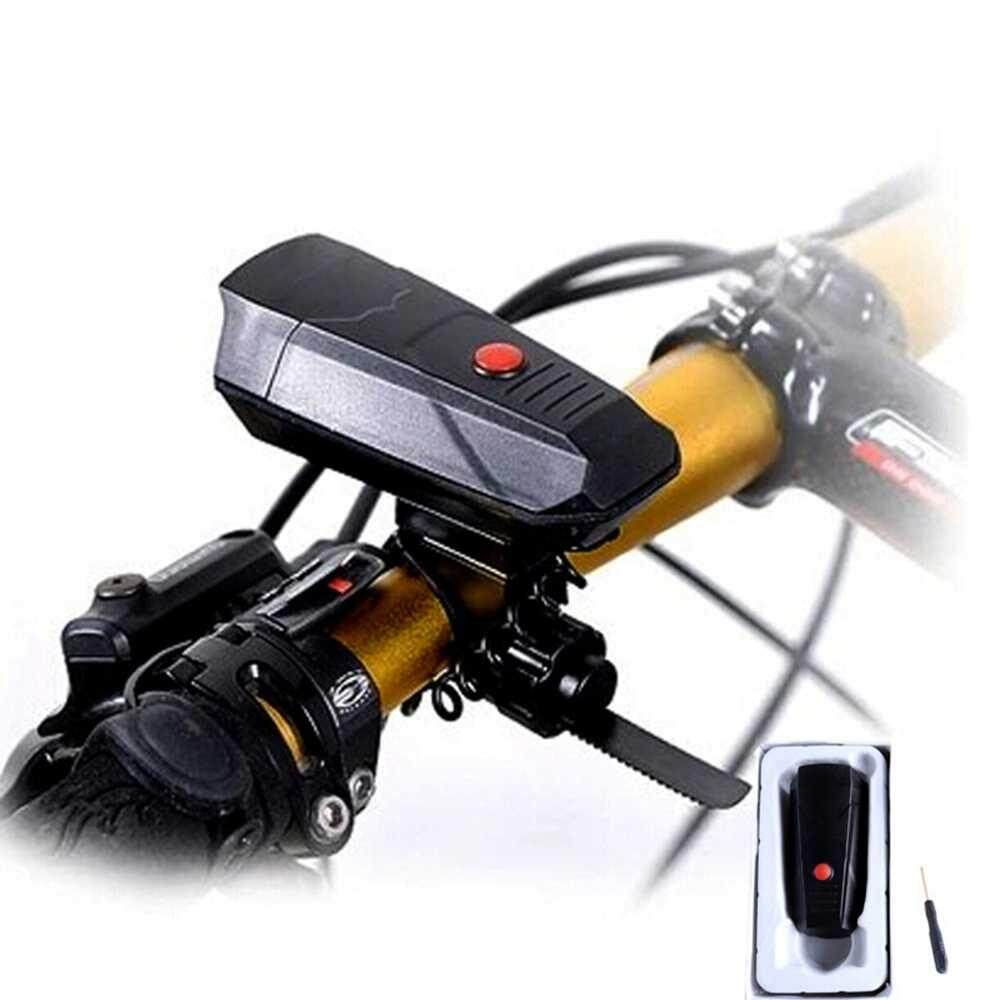Bicycle Accessories 6 Sounds Electronic Cycling Horns Bike Bicycle Alarm Handlebar Ring Bell Horn Black Super