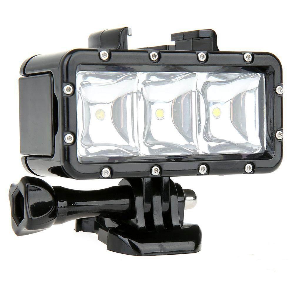 Tahan Air LED Dimmable Video POV Flash Mengisi Lampu Malam untuk GoPro Xiaoyi-Intl