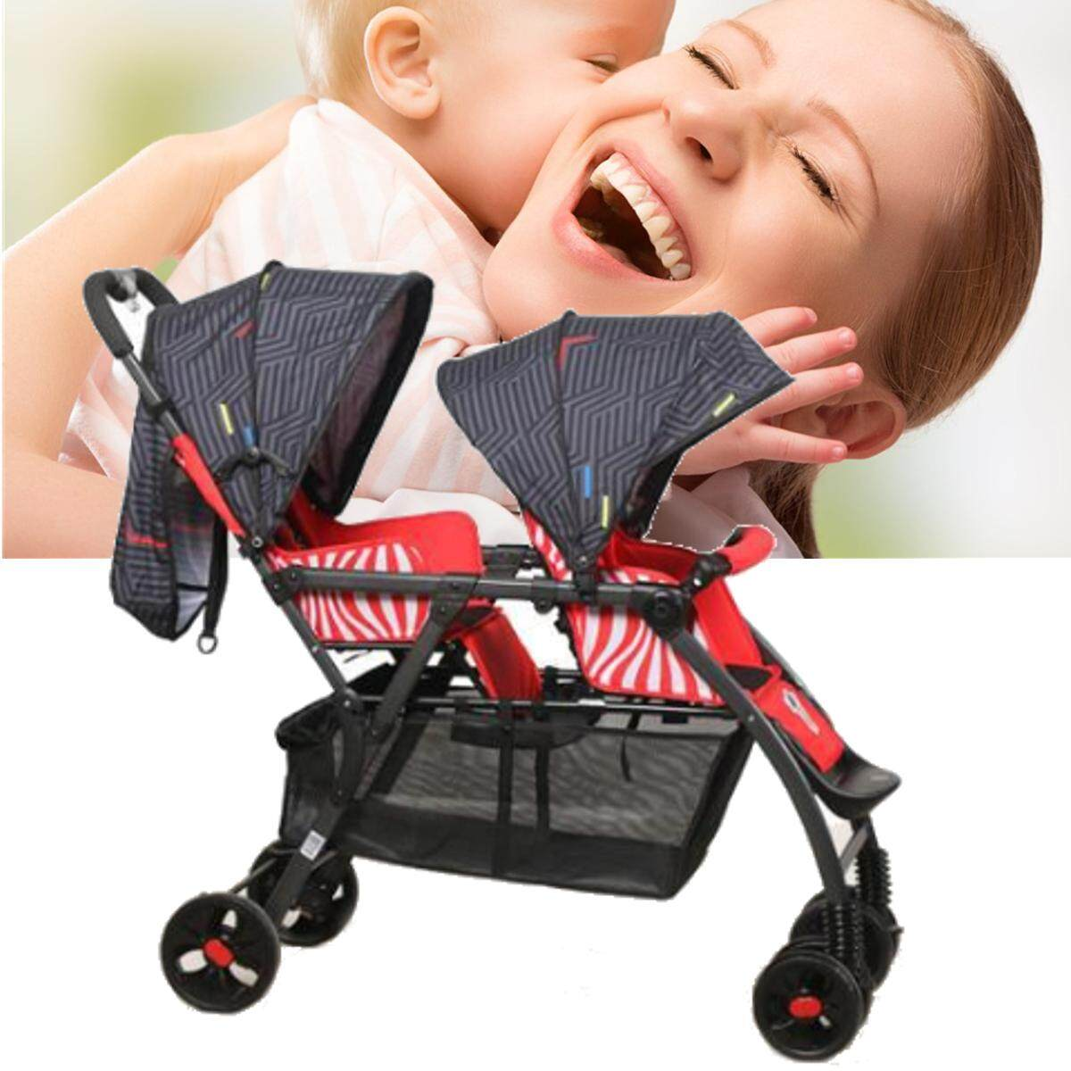 New Cosatto Shuffle Tandem Stroller Double Pushchair Buggy Hipstar - Intl By Elec Mall.