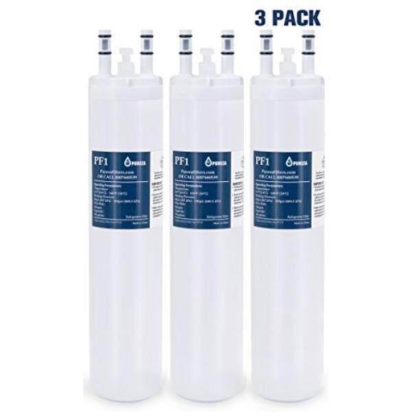 Pureza Ultrawf Penyaring Udara Frigidaire, Puresource Ultra, frigidaire Cocok Kartrid untuk Kulkas Frigidaire & Pembuat Es-Kompatibel dengan Kristal Ultrawf, Kenmore 46-9999, 3 Paket-Internasional