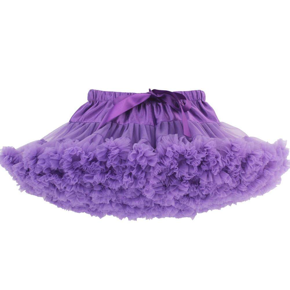5930de7b41 Lucky girl Fashionable Girl Skirts Fluffy Grenadine Half-body Short Skirt  Gift Tutu Dress