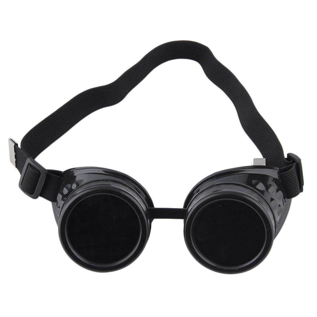 Giá bán LALOVE Professional Cyber Goggles Steampunk Glasses Vintage Welding Punk Gothic Victorian Outdoor Sports Bicycle Sunglasses