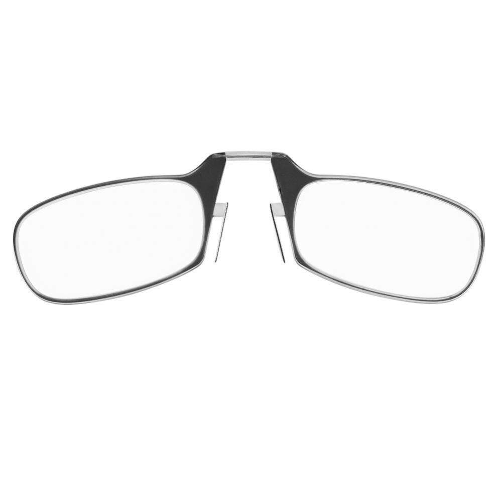 Unisex Ultra Thin Light 1.0-3.0 Big Nose Clip Reading Presbyopic Glasses Mini Size 2.5 - Intl By Rongshida.