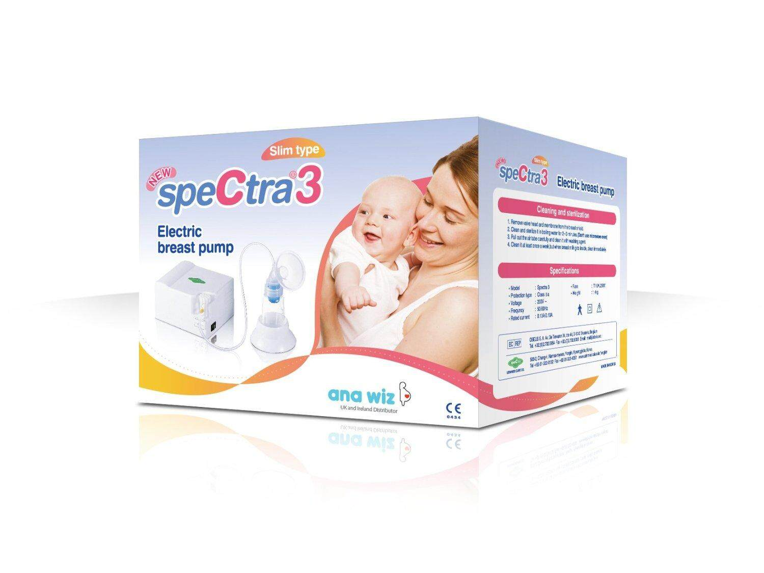 [SpeCtra Baby Korea] SpeCtra 3 Electric Breast Pump (with 1 Breast Shield Set)