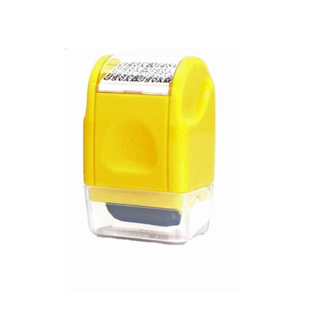 3cm Guard Your ID Roller Stamp Up To 100m Messy Code Security Theft Protecter