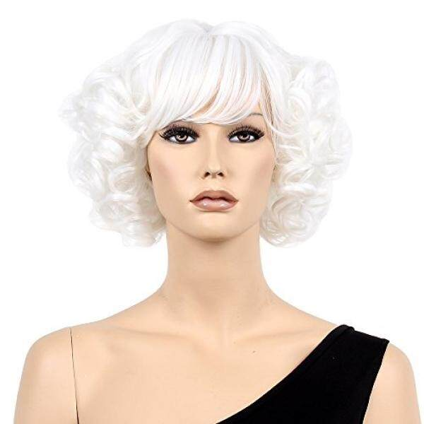 Stfantasy Rambut Palsu untuk Wanita Pendek Keriting Bergelombang Berlapis  Lolita Rambut Palsu Harajuku Pesta Kostum Cosplay 1d0debf133