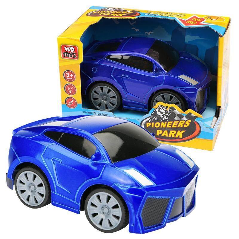 Redcolourful Mini Listrik Inersia Mainan Mobil-mobilan Anak Intelektual Lucu Meluncur Plastik Otomotif Mainan Bersuara