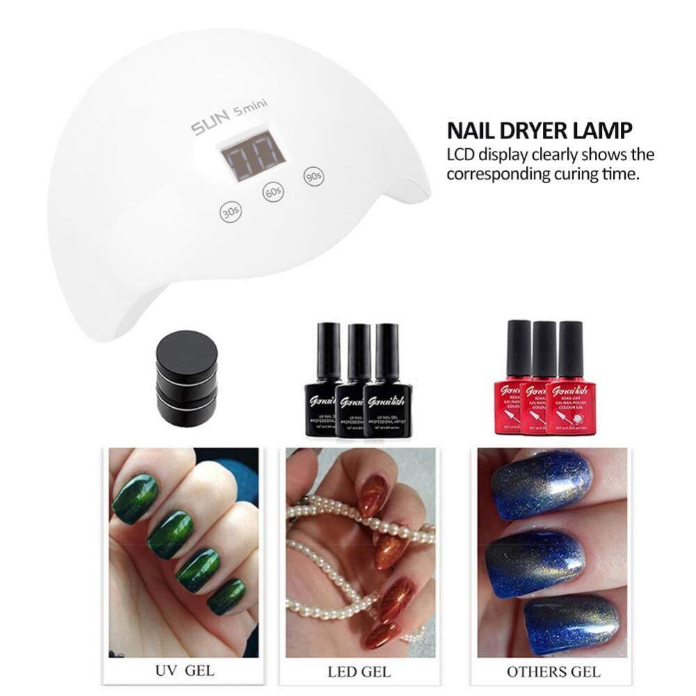 UVLED Nail Lamp Nail Dryer for Nail Gel Polish Curing Smart Sensor Nail Art Manicure Tools
