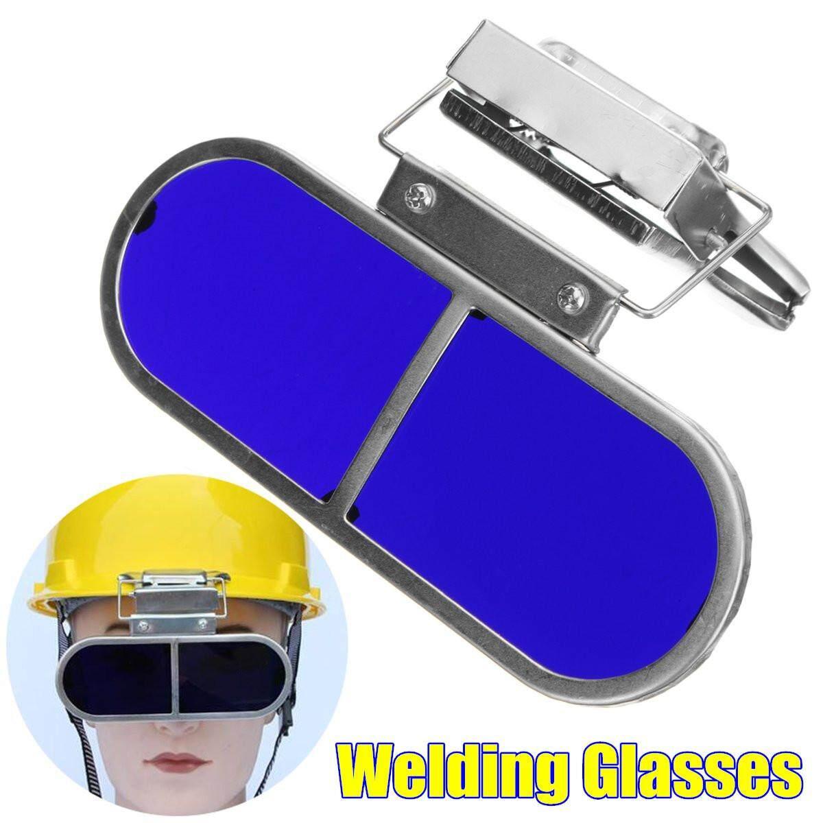 Welding Kacamata Perlindungan Pembuatan Baja Kacamata Olahraga Bingkai Anti Karat dengan Klip-Internasional