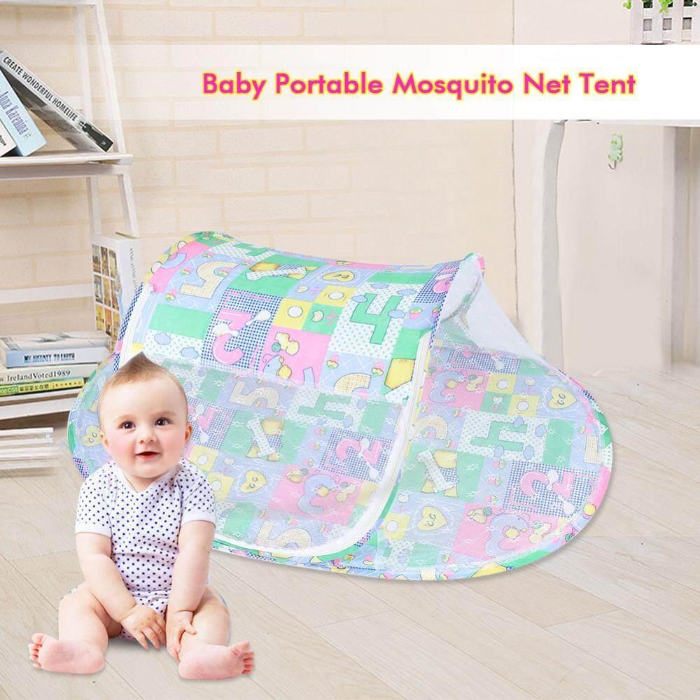 Bayi Bayi Portabel Lipat Nyamuk Bersih Musim Panas Tenda Rumah Perjalanan Nyaman Tidur-Internasional