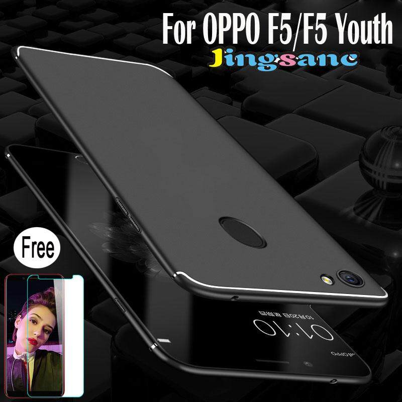For OPPO F5 / F5 Youth [Free Tempered Glass] Luxury Ultra-thin Hard