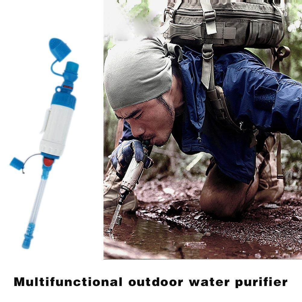 Hình ảnh PAlight Outdoor Portable ABS Water Filter Camping Purifier Cleaner Wild Survival Tool