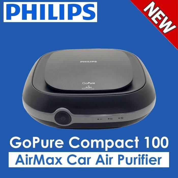 Philips Gopure Kompak 100 Airmax Mobil Udara Purifier, Kendaraan Sistem Udara Bersih, Penyaring Termasuk-Internasional