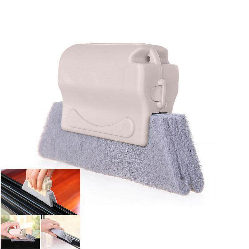 Niceeshop Multi - Function แปรงทำความสะอาด, ถอดออกได้และทำความสะอาดได้ผ้าไมโครไฟเบอร์สำหรับประตูและหน้าต่าง Groove Gap - Intl.