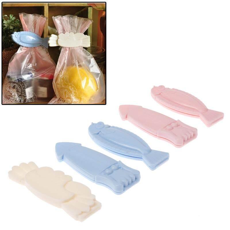 Tas Penyimpanan Makanan Penyegelan Klip Sealer Makanan Klip (5 Pcs Dalam Satu Kemasan, harganya 5 Pcs)-Internasional