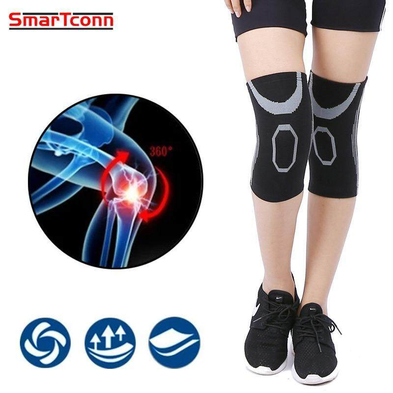 SmarTconn A Pair of Sports Knee Pad Breathable Safety Knee Pads Elastic Knee Support Knee Protect