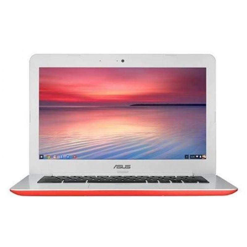 ASUS C300SA-DS02-RD Chromebook 13.3 HD with 16GB Storage & 4GB RAM (Red) - intl