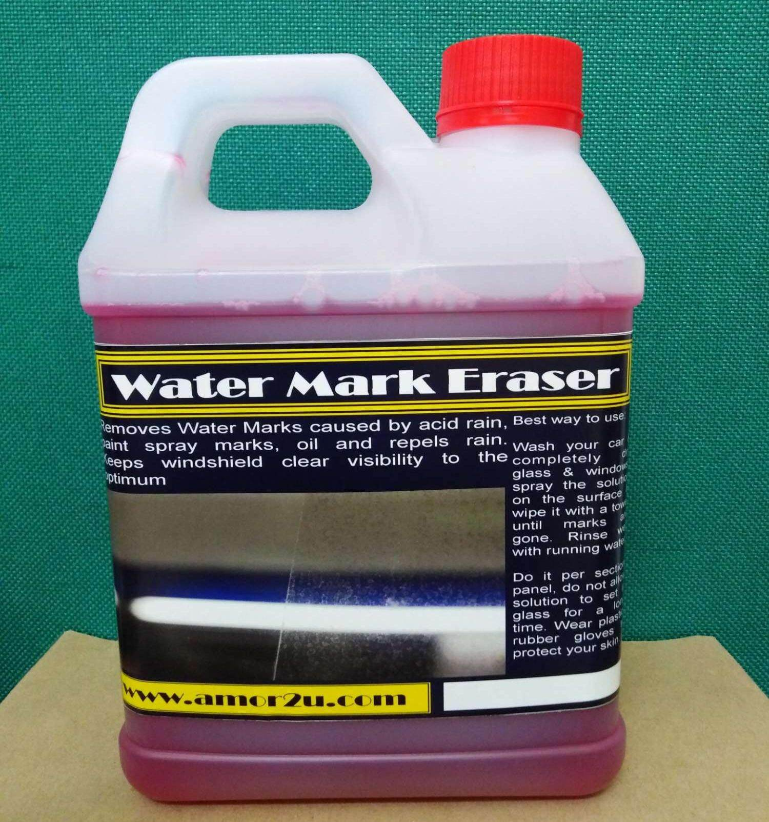 2liter Windshield Rain Mark or water mark Remover for Car Wash