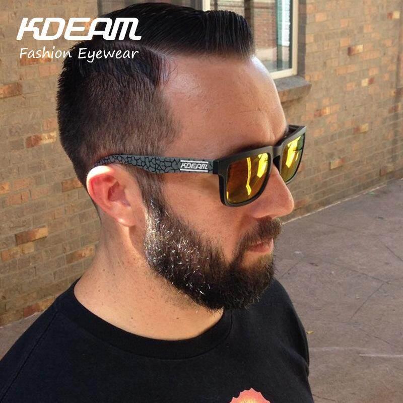 KDEAM Men Polarized Sunglasses KD901P-C13