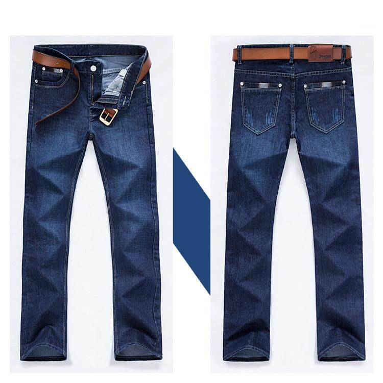 2018 Baru Pria Jeans Modis Pria Kasual Ramping Sesuai Lurus Tinggi Regang Kaki Ketat Jeans Pria Seksi Jual Celana Panjang Pria