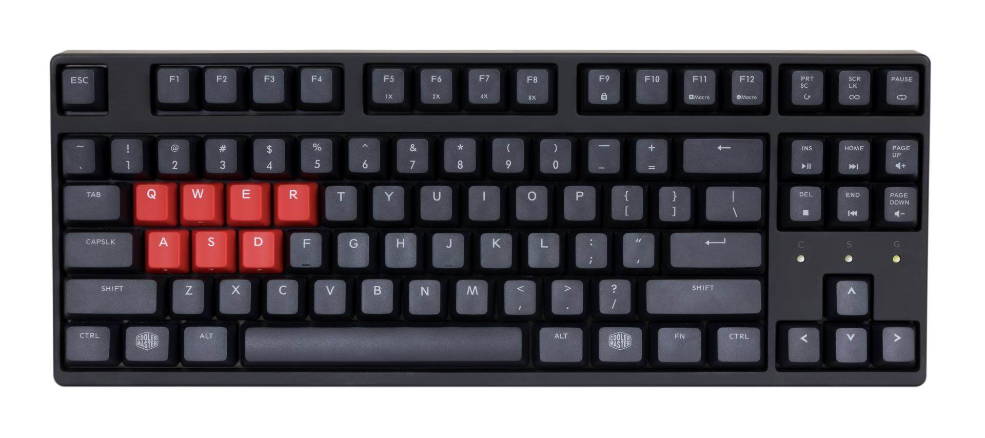The MasterKeys S PTB is all about wrapping that classic Cooler Master  mechanical feel in a sturdy 506e424bc025f