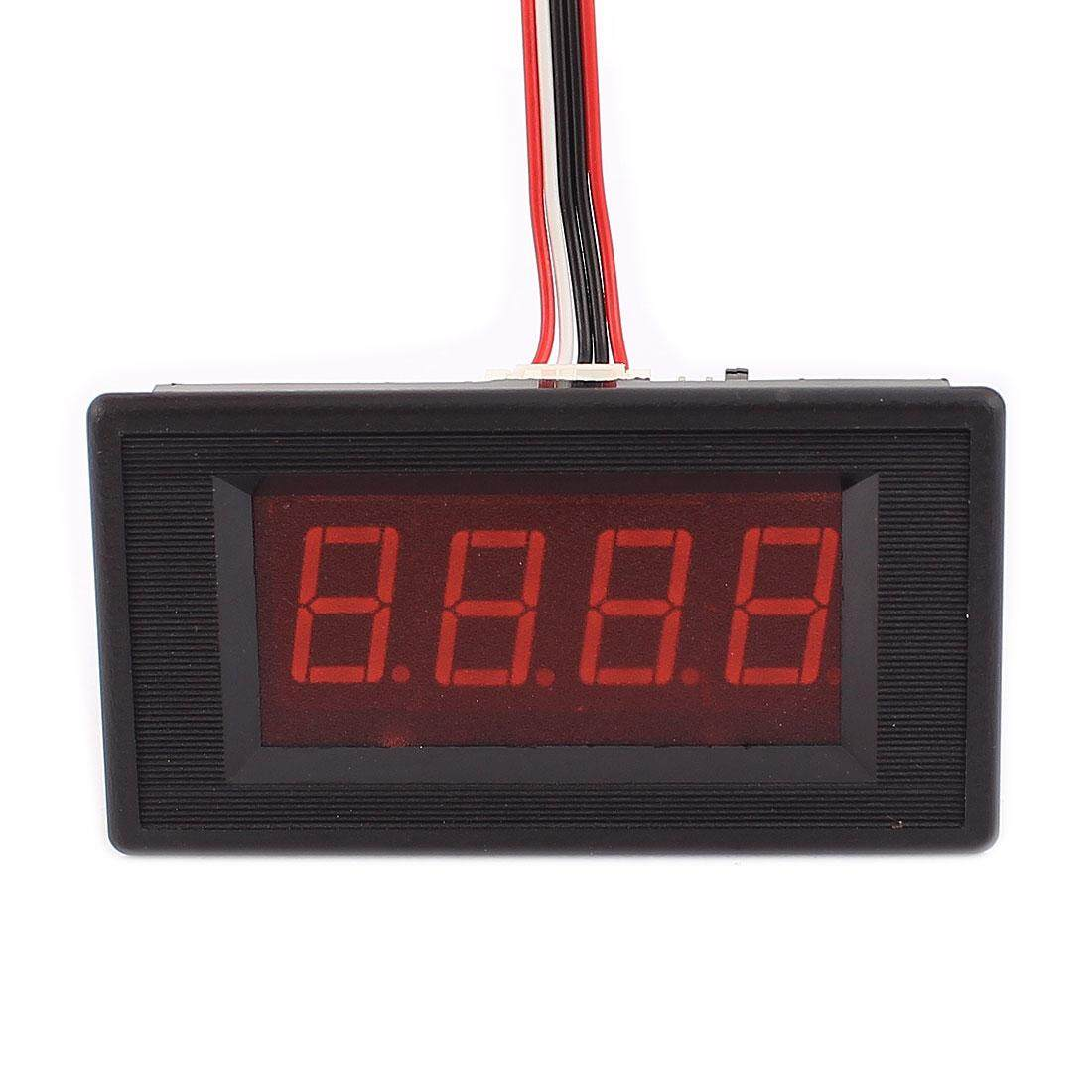 AXA AXA Digital Ammeter DC 30A 75MV Current Meter LED Display Panel Current Tester