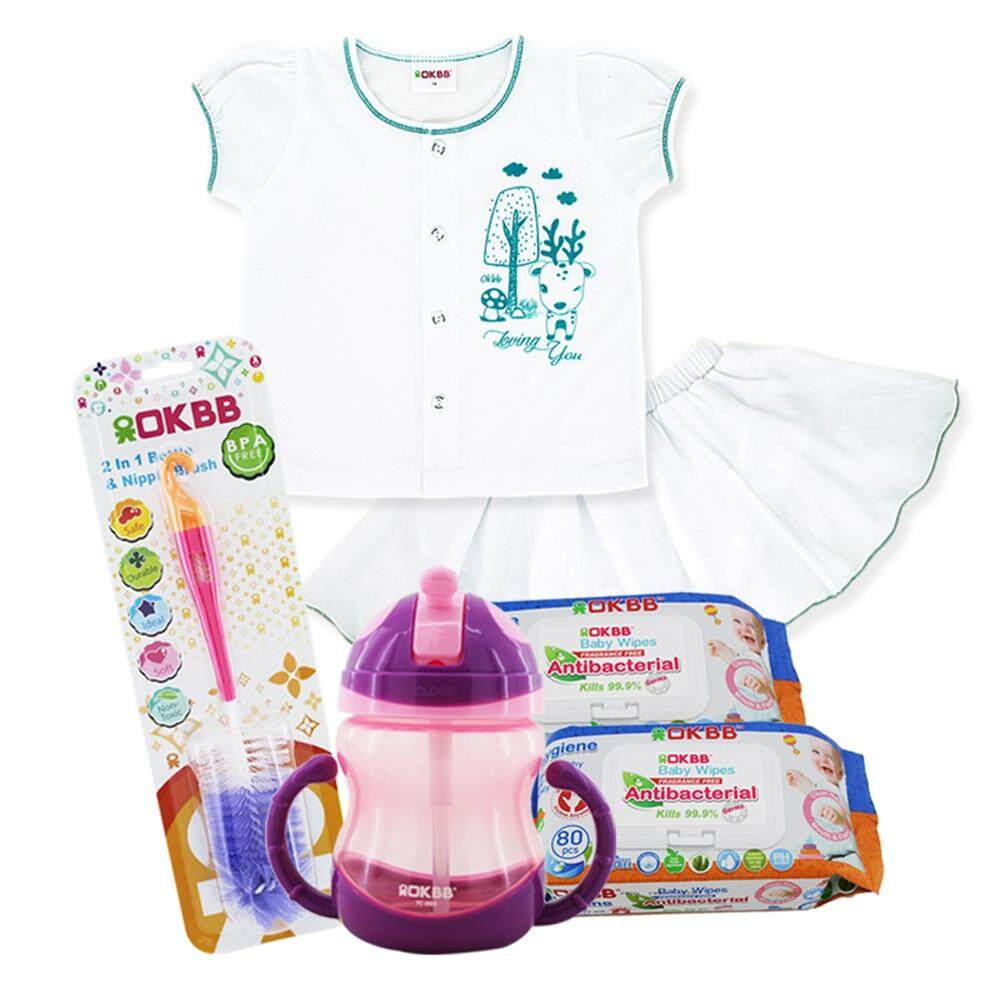 OKBB Standard Value Pack For Baby Girl MS45F9A24T6