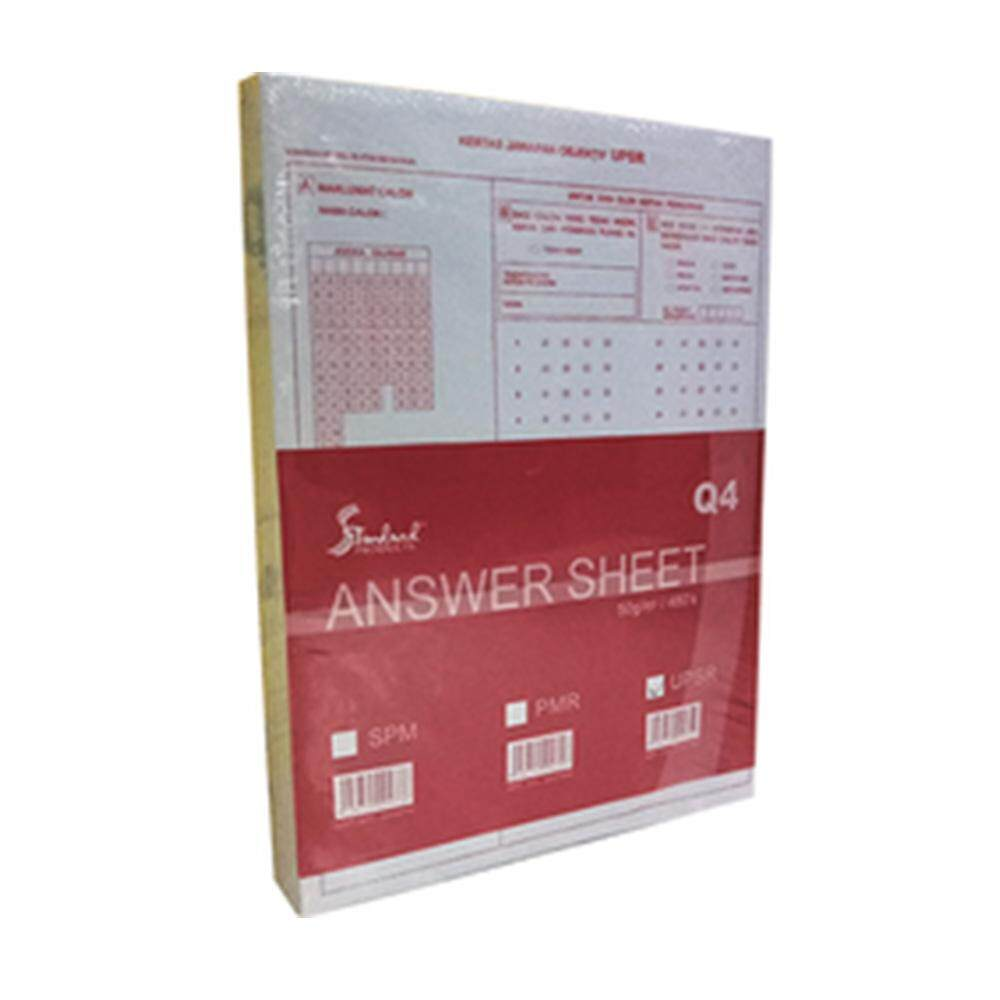 Objective Exam Answer Paper 480 sheets