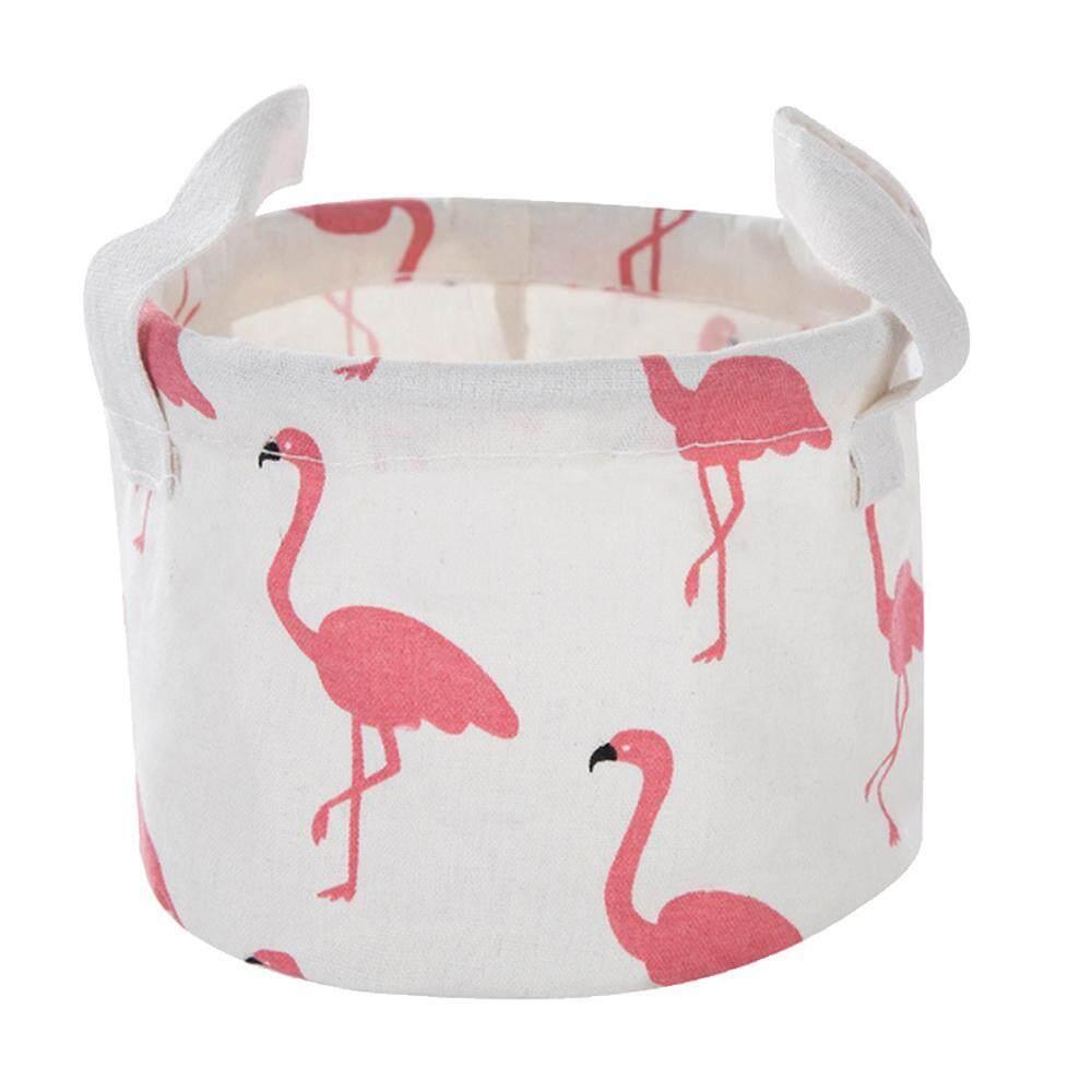 YUESHUNBUHA Pawaca Collapsible Rectangle Basket Fabric Storage Bin Organizer with Handles for Sundries, Gadgets, Toy Organizer, Pet Toy Storing, Kids Basket Baby Bin, Ostrich Green - intl