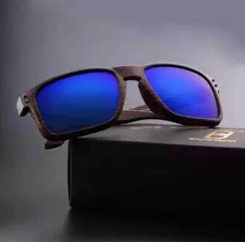 Baru Merek Deisnger Kaca Mata Pria Wanita Olahraga Matahari Kacamata Holbrook (Teh Bingkai Merah Lensa)-Internasional