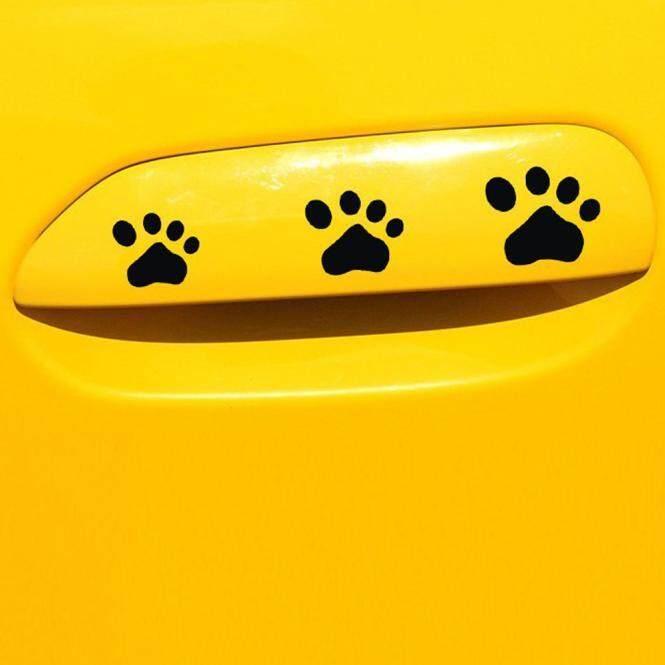 Anjing Anak Anjing Cakar Stiker Decal untuk Mobil, Dinding Laptop, dan Hal-hal