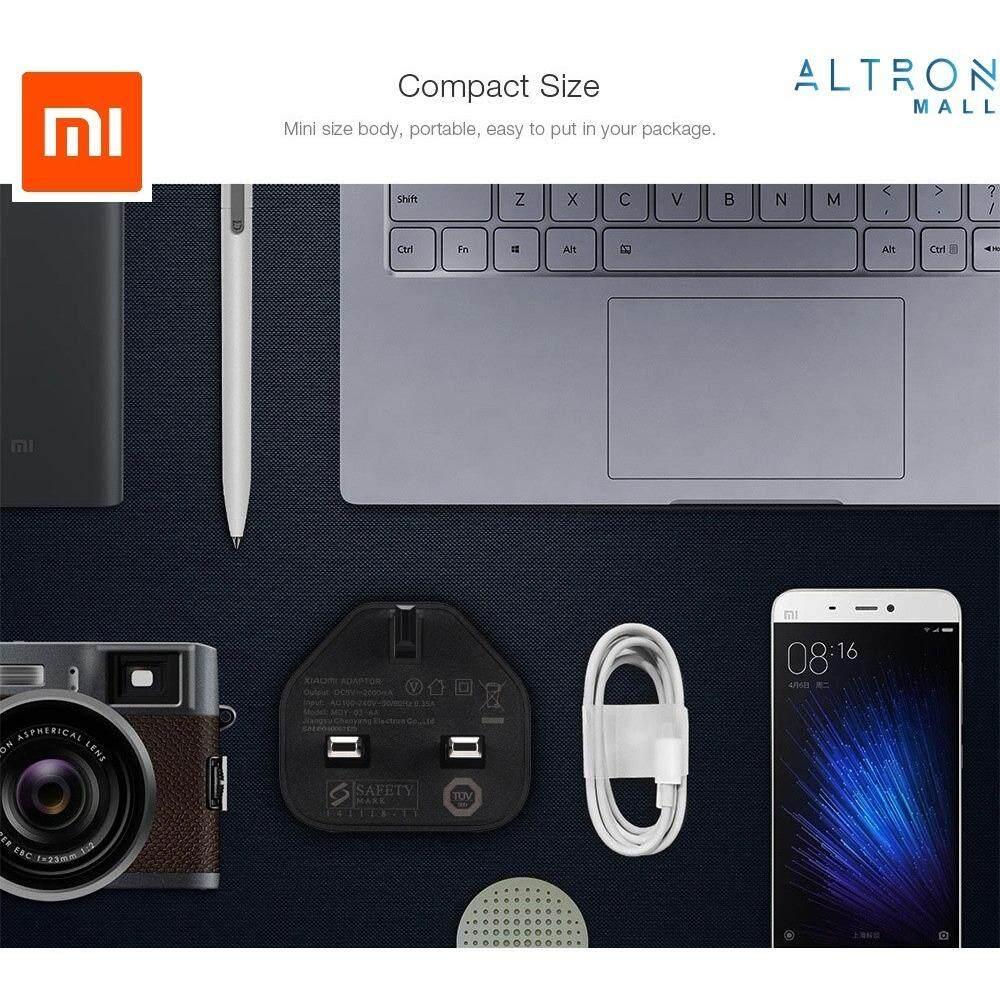 Xiaomi Charger Mdy 03 Ec 2a Fast Charging Hitam Daftar Harga Original Cysk10 Mi 5v Wall Adapter 5