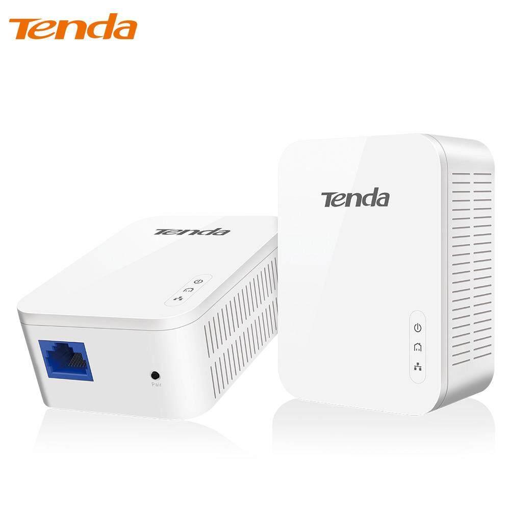 Tenda PH3 1000 Mbps Adaptor Jaringan Powerline, AV1000 Ethernet Adaptor Plc, 1 Pasang Router Pasangan, IPTV, homePlug AV2, EU/AS Steker-Internasional