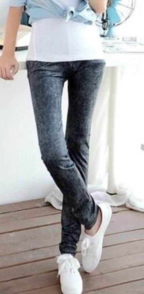 (Pre Order 14 DAYS) JYS Women Fashion Legging 114-767-E (Blue) ONE SIZE