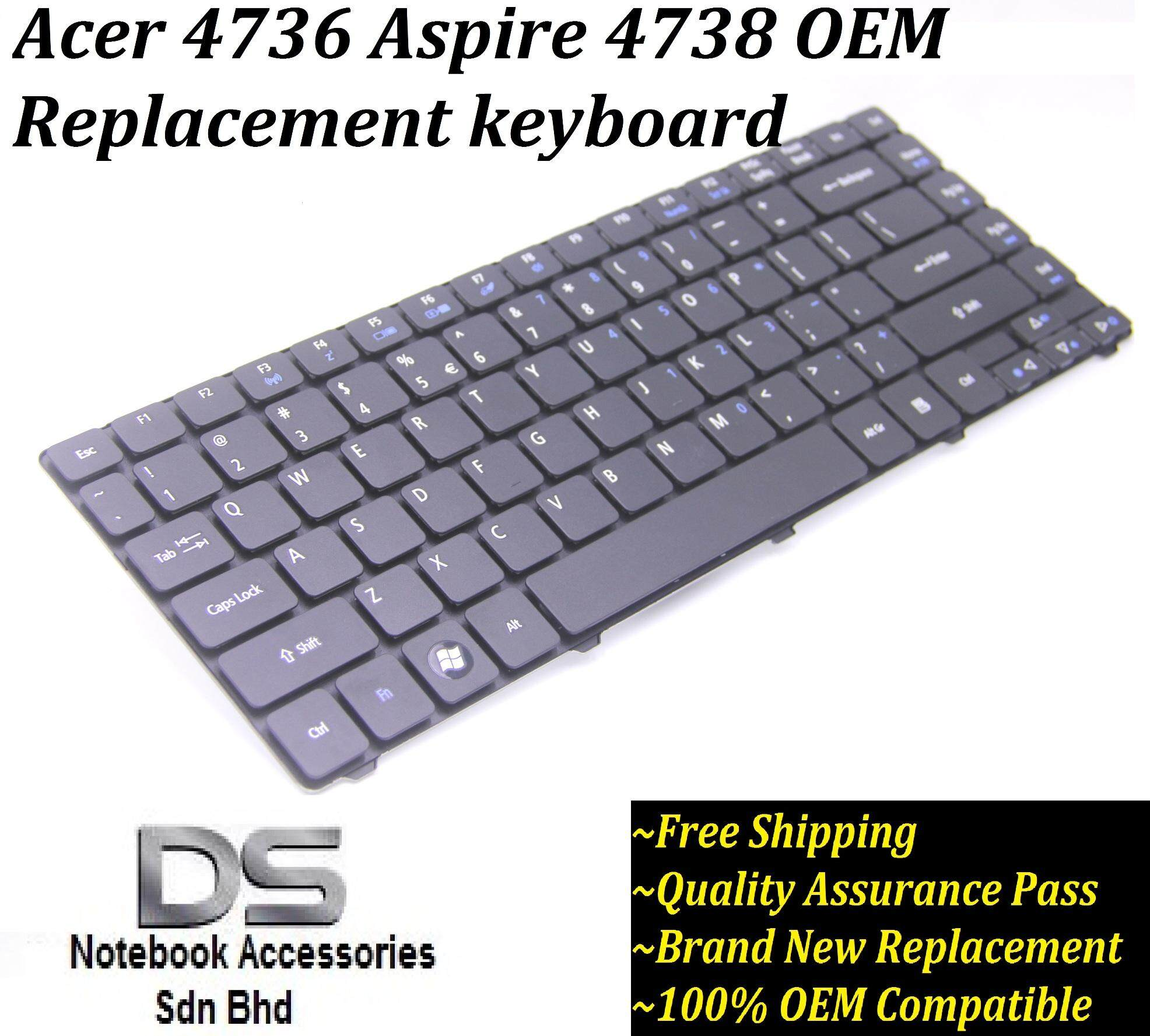 Replacement/Compatible Laptop Keyboard for Acer Aspire 4738Z /Acer 4736 Replacement Keyboard