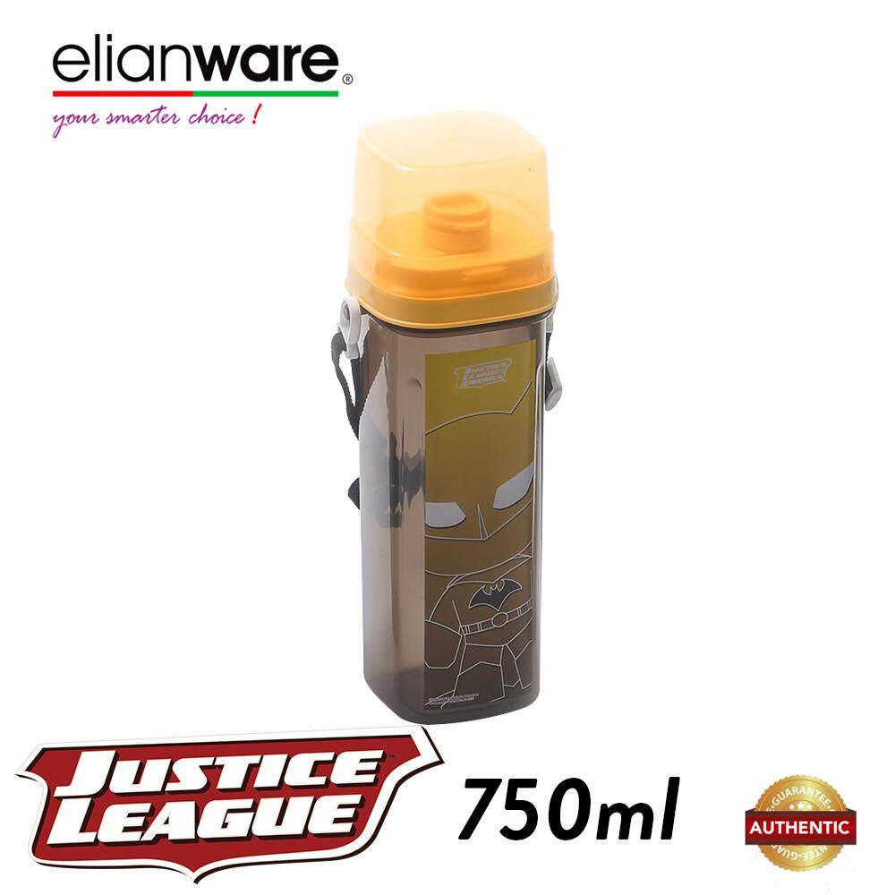 Elianware DC Justice League 750ml BPA Free Water Tumbler with Handle Strip