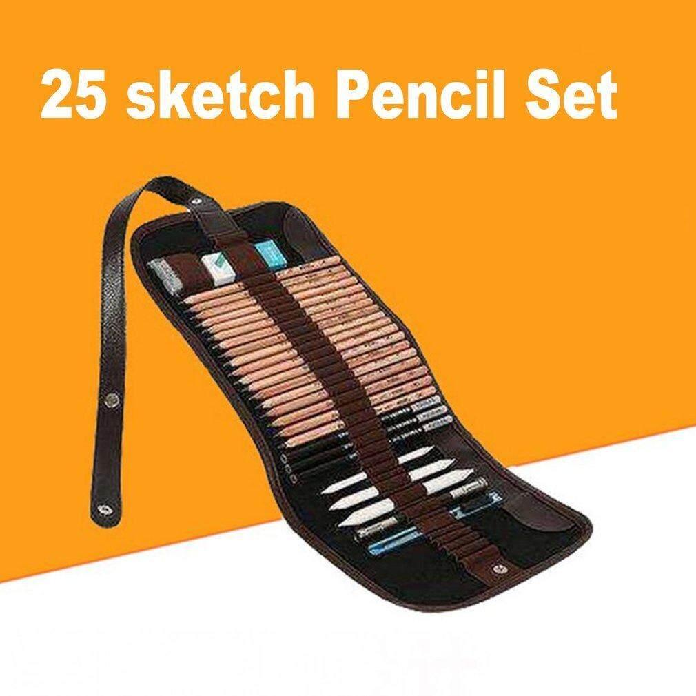 Marco Gambar Seni Putih Pastel Pensil Nontoxic Pen Artis Sketsa Crayon- IntlIDR165000 .