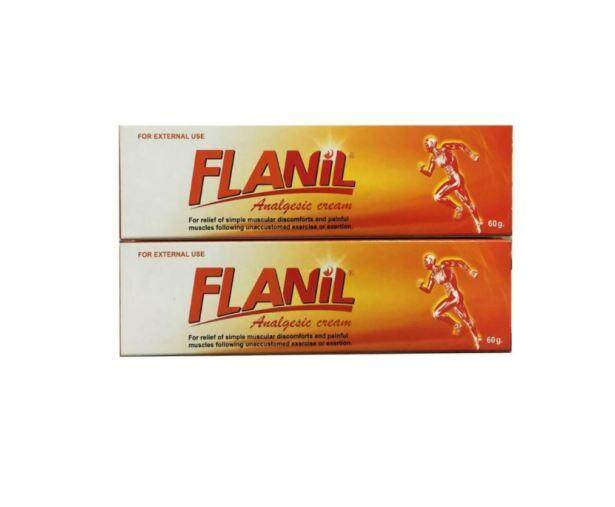 Flanil Analgesic Cream 60g x 2