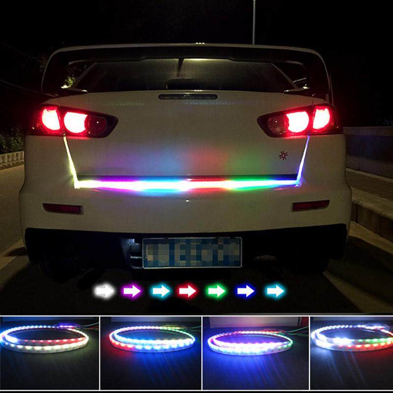 Palight 12m 12v led car braking light strips tailstock streamer please allow 2 3cm differs due to manual measurement aloadofball Images