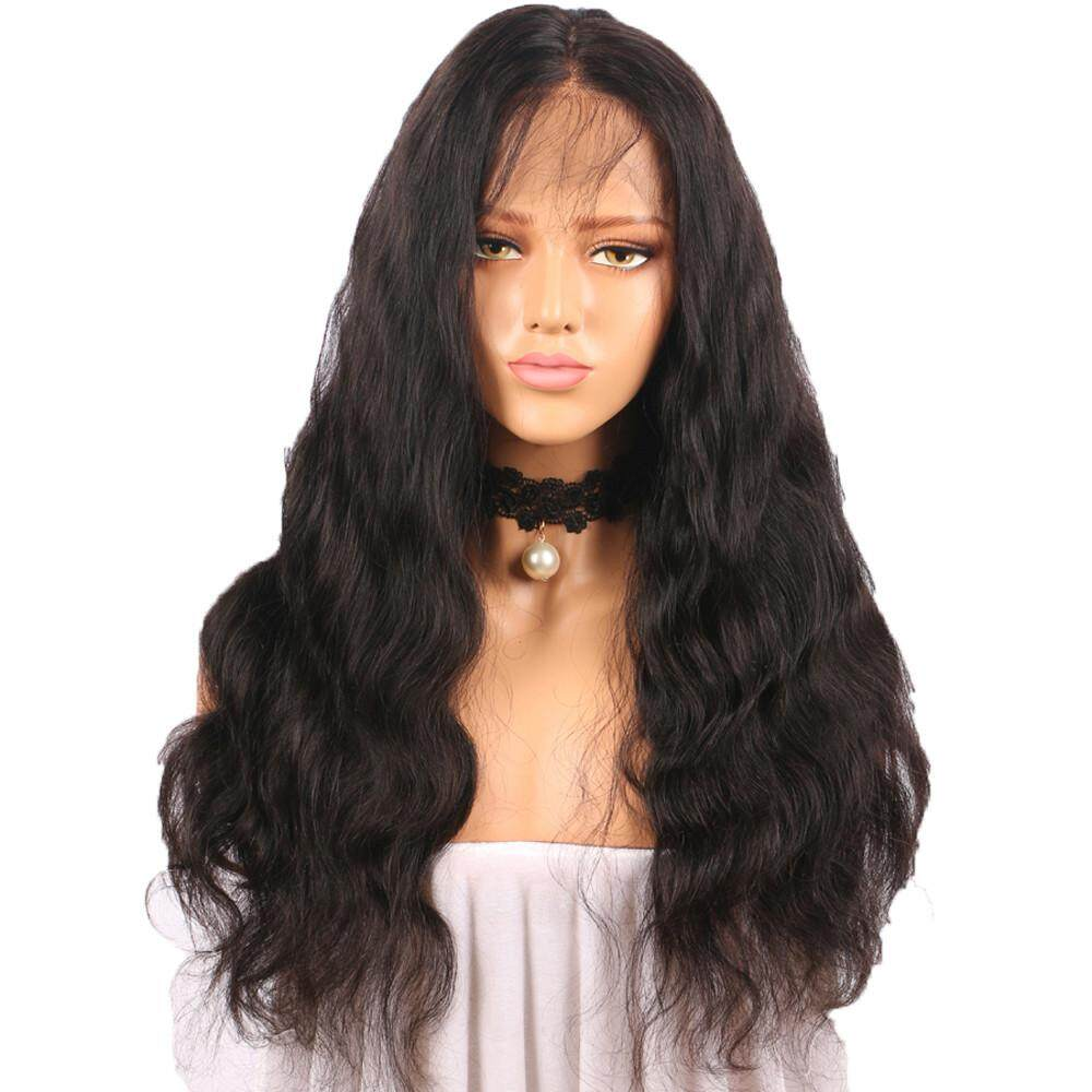 Curly Wig Glueless Full Lace Wigs Black Women Indian Remy Human Hair Lace Front Garnerstore - intl