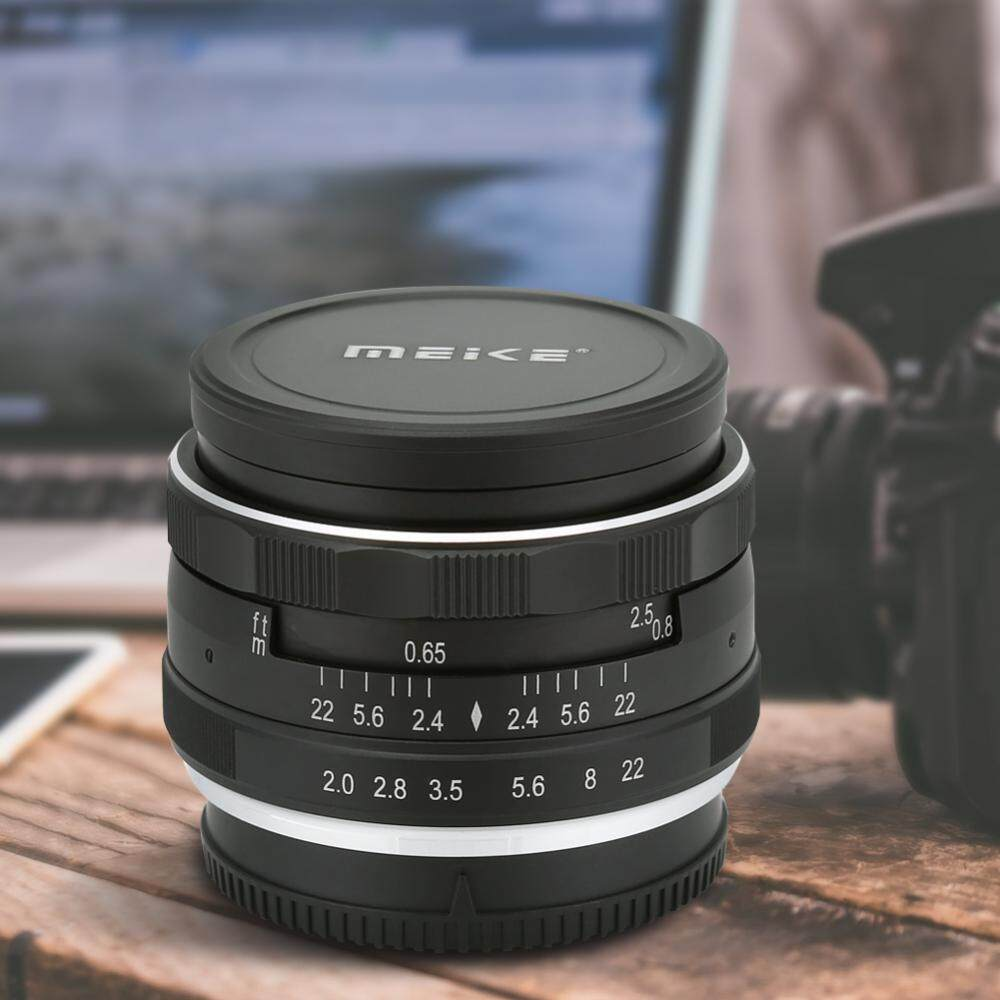 Features Meike 50mm F 2 0 Fixed Manual Focus Multi Coated Camera F2 Lens For Mft Micro Four Third Mirrorless 20 Nikon
