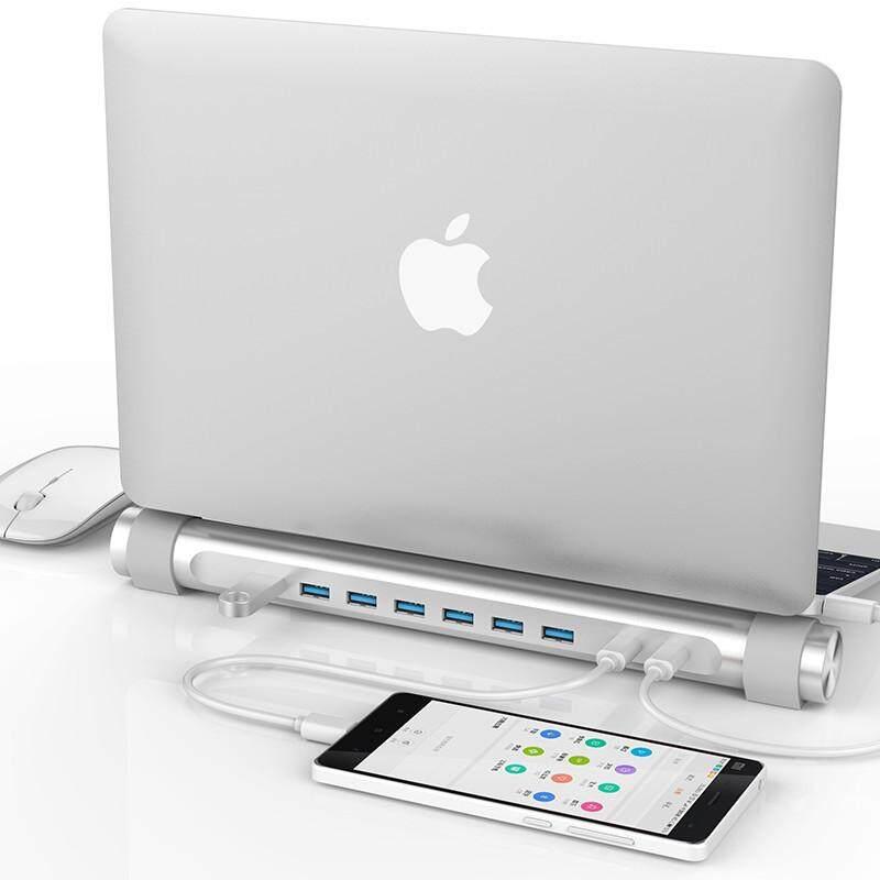 ORICO M4U3 4 Ports 5Gbps High Speed USB3.0 Hub Laptop Stand