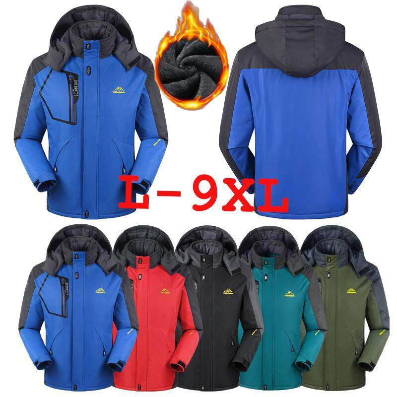 Winter Men Waterproof Hoodies Coat Windproof Outdoorwear Mountain Hiking Warm Jacket Blazer