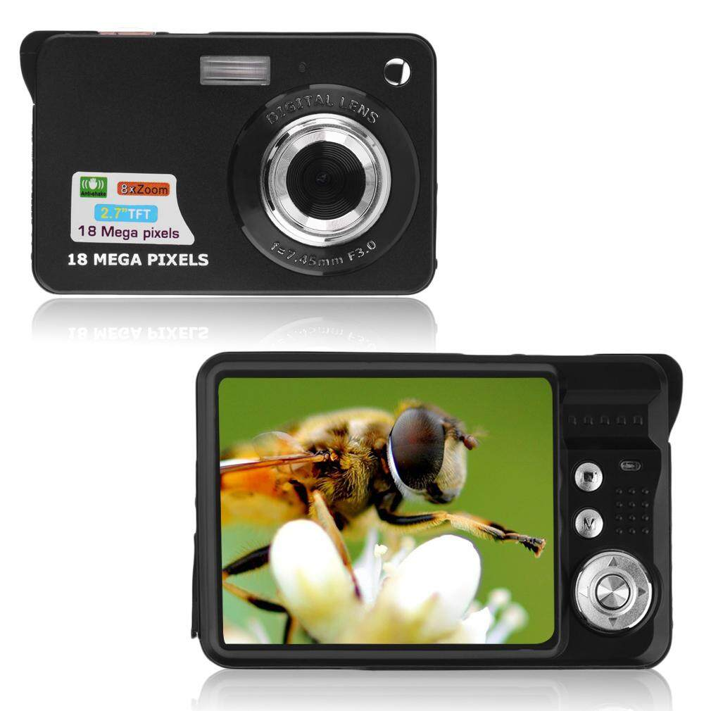 2.7 Inci Lcd Tft Hd 720 P 18mp Camcorder Digital Kamera 8x Zoom Anti-Shake By Junlang.