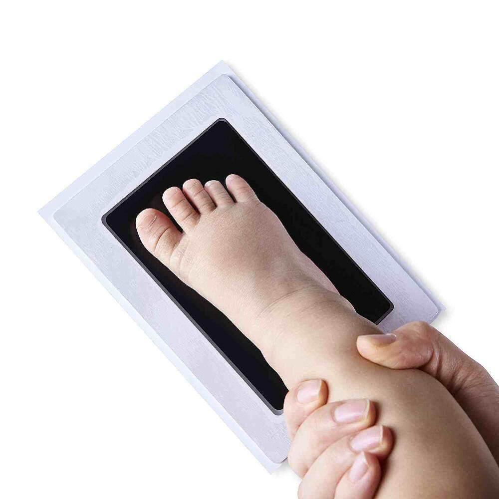 ทารกแรกเกิดรอยมือทารก Footprint กรอบรูปชุดปลอดสารพิษ Touch ตลับหมึก - Intl By Moyaa.