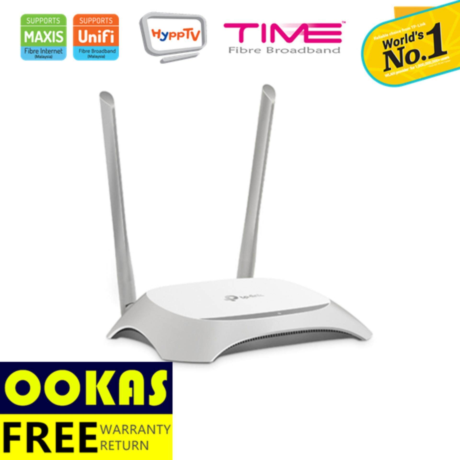 Fitur Tp Link Tl Wr840n 300mbps Wireless N Router Antenna Dan Wr 840n Tplink Unifi Wifi Maxis Time
