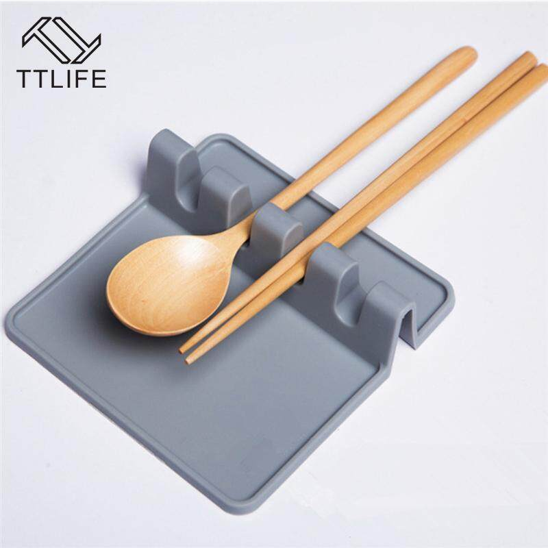 Ttlife 2018 Produk Baru Alat Masak Peralatan Dapur Wadah Spatula Sendok Sisa Silikon Panas Alat Anti
