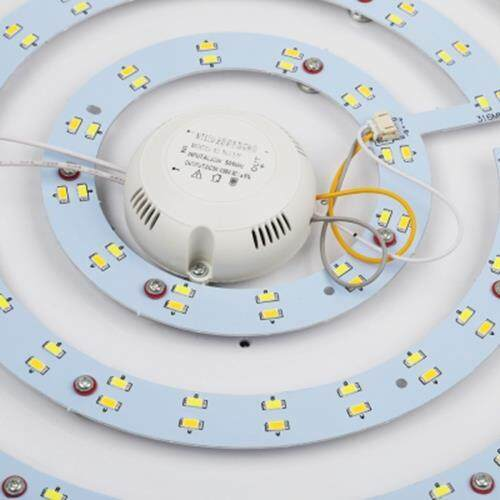 ROUND 36W AC 220V SMD 5730 2880LM LED CEILING LIGHT (SILVER)