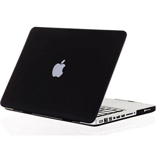 Kuzy - 17-inch Soft-Touch Hard Case for MacBook Pro 17 Model: A1297 Aluminum Unibody, Cover Ultra Slim - BLACK Malaysia