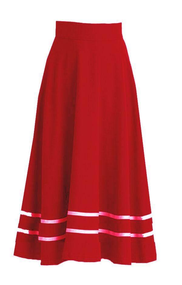 Ear maira double lenerz skirt for women